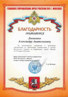 МЧС Довженко