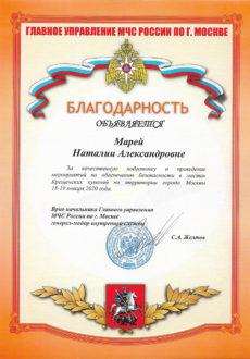 МЧС Марей Н