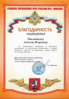 МЧС Павлюткин